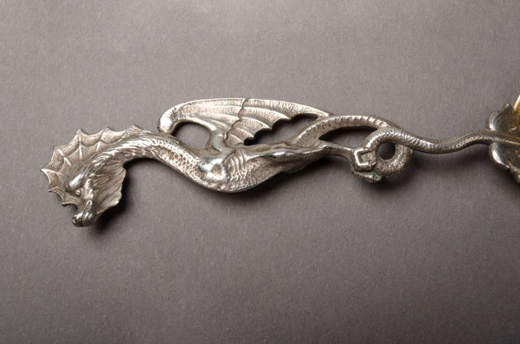 Picture of Dragon Handle Silver Spoon