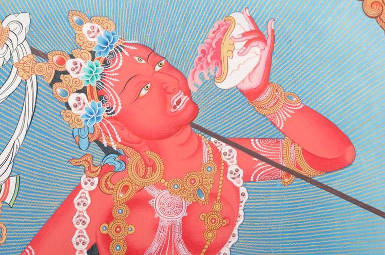 Picture of Bhairava Thangka