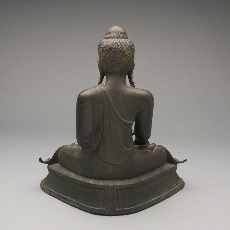 Picture of Bronze Buddha