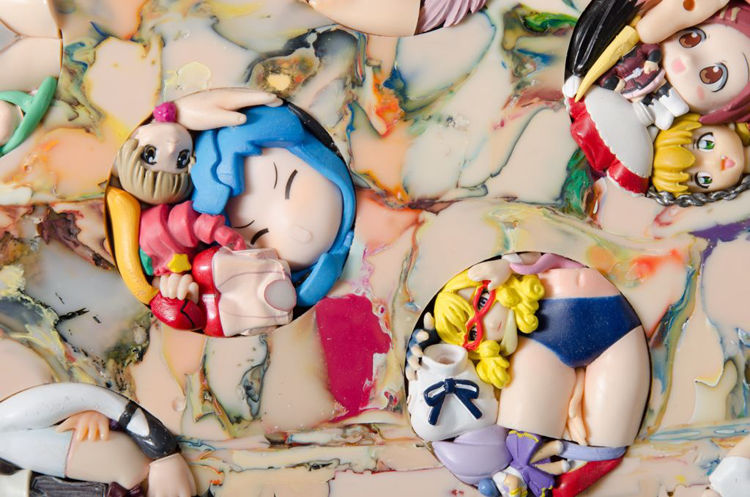 Picture of Anime in plastic