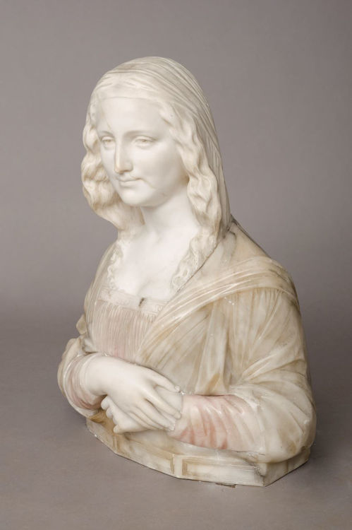 Picture of Alabaster Bust of a Maiden