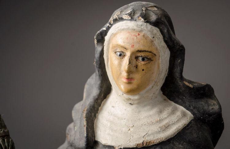Picture of Brazilian Nun Sculpture