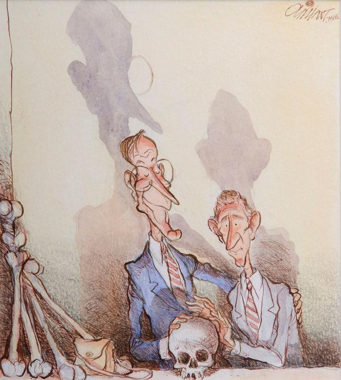 Picture of George W-Skull & Bones