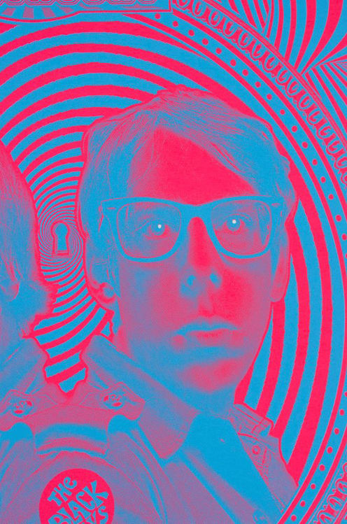 Picture of Red Psychedelic Black Keys