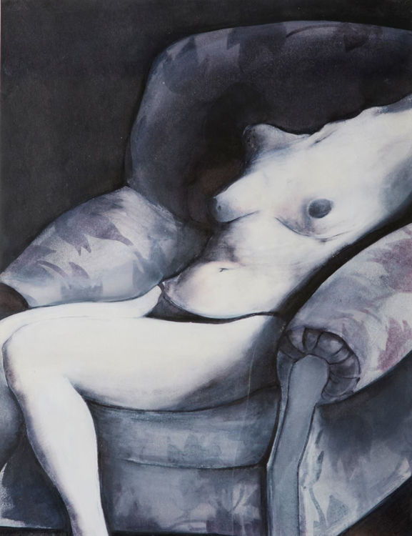 Picture of Seated Nude in an Armchair