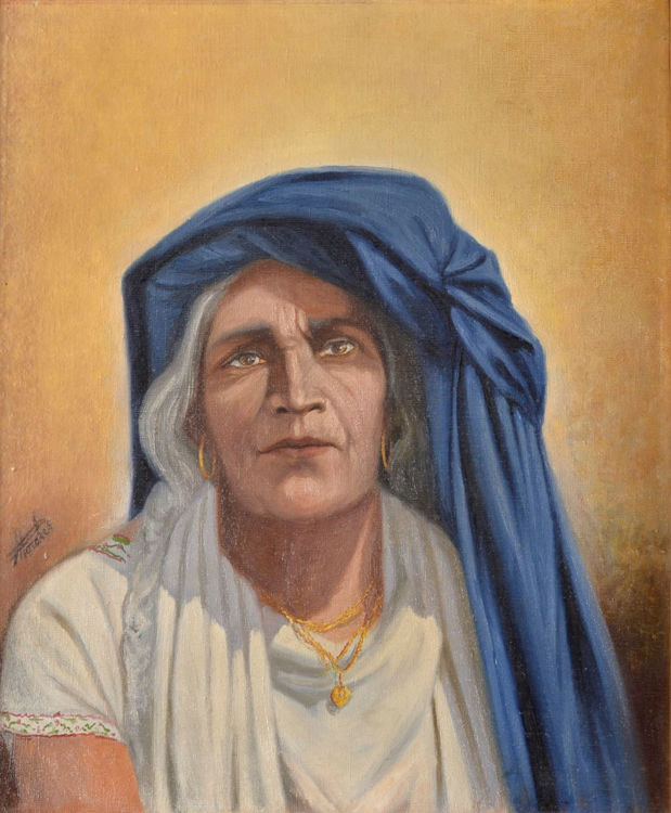 Picture of Gypsy Woman