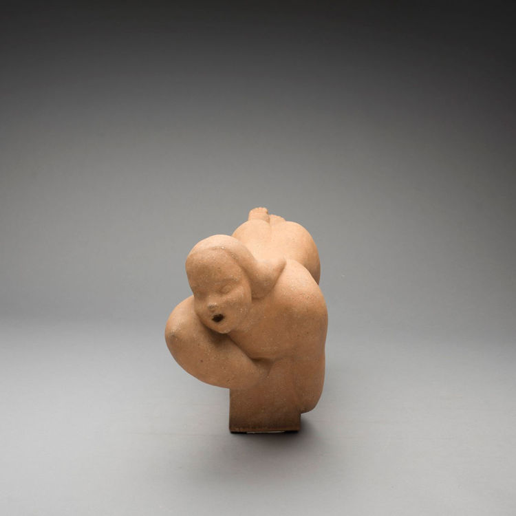 Picture of Bisque Fired Swimmer