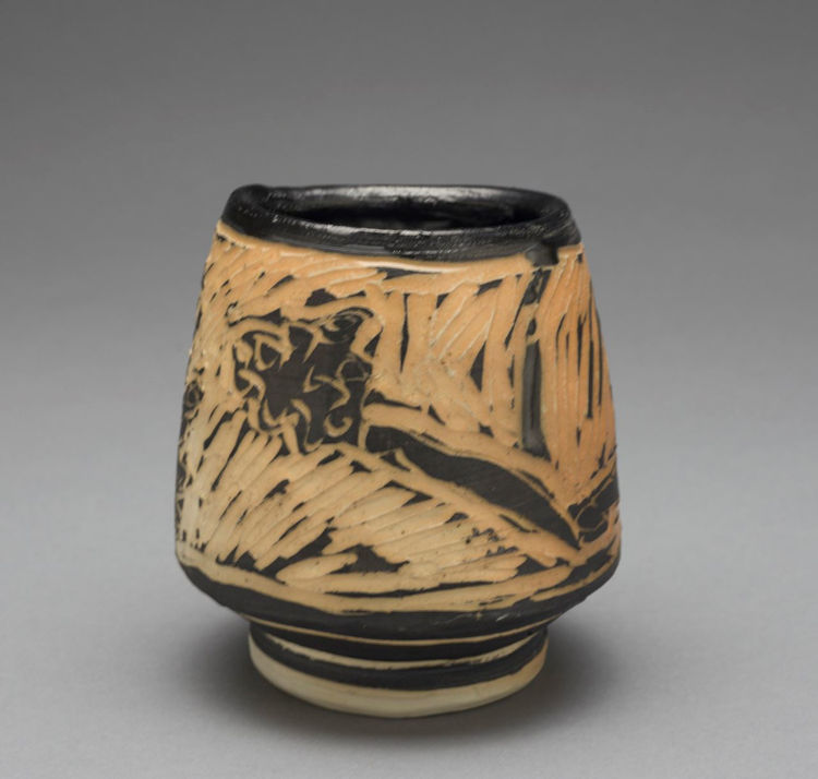Picture of Heart and Skull Cup