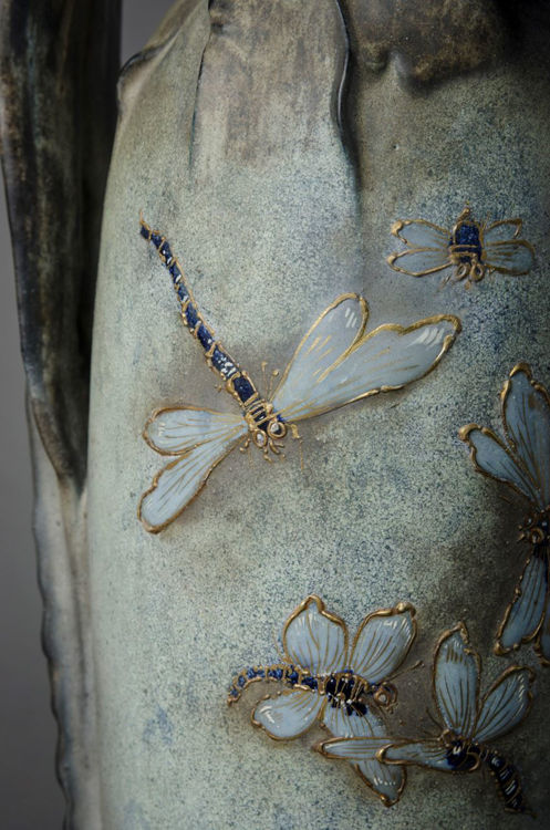 Picture of Dragonfly Vase