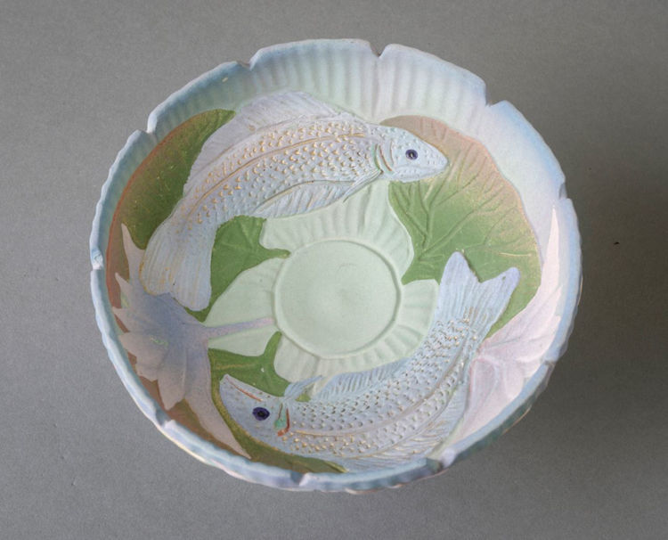 Picture of Carved Vessel with Fish Motif