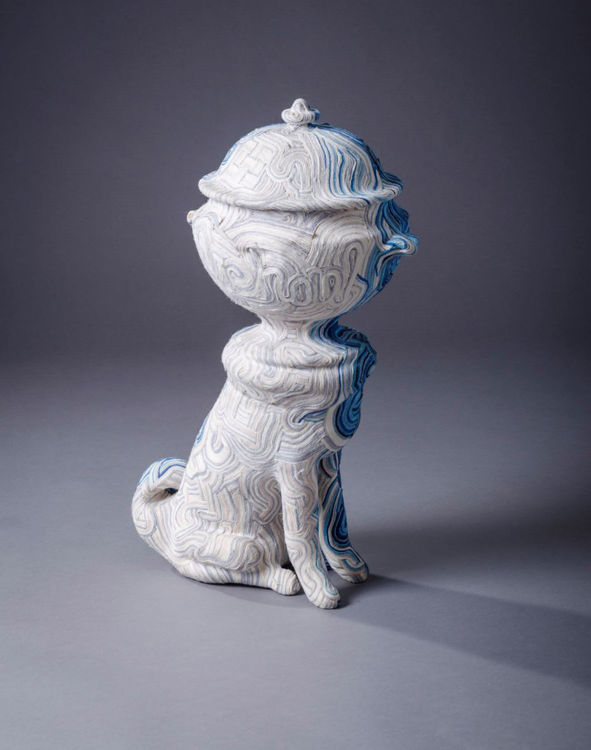 Picture of Tureen Headed Dog