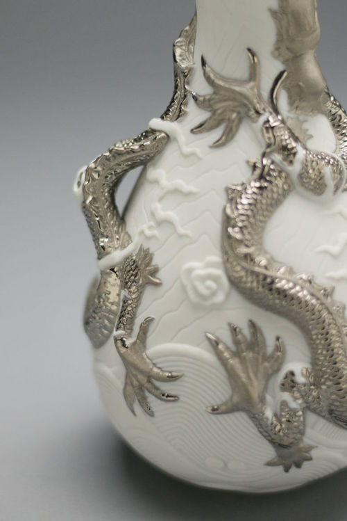 Picture of Dragons Bud Vase