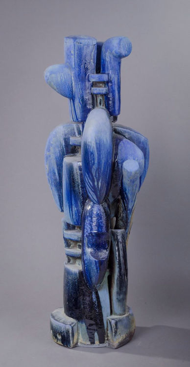 Picture of Figure In Blue