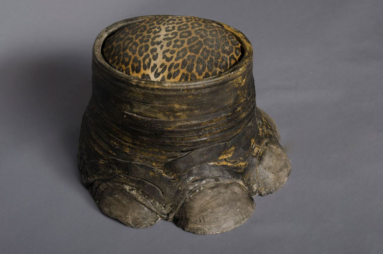 Picture of Elephant Foot Stool