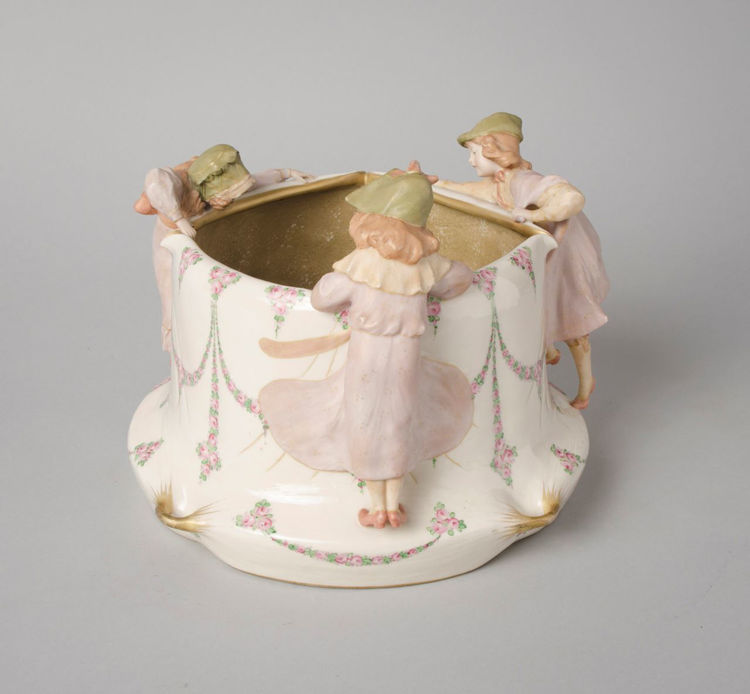 Picture of Playful Three Figure Vessel