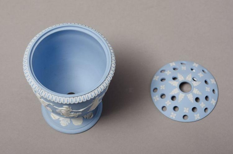 Picture of Bough Pot - Solid Blue Jasper