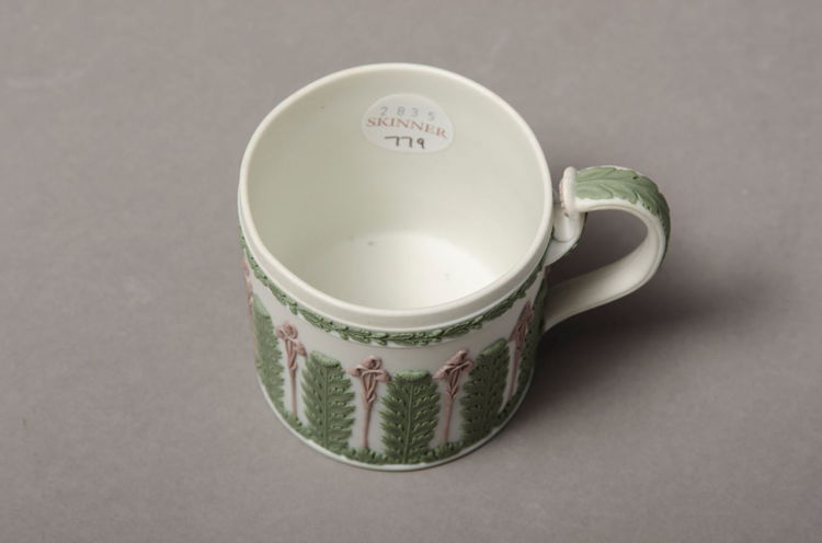 Picture of Coffee Can - Green Jasperware Dip