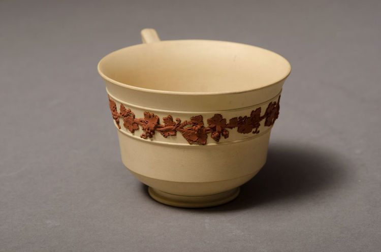 Picture of Teacup and Saucer Caneware