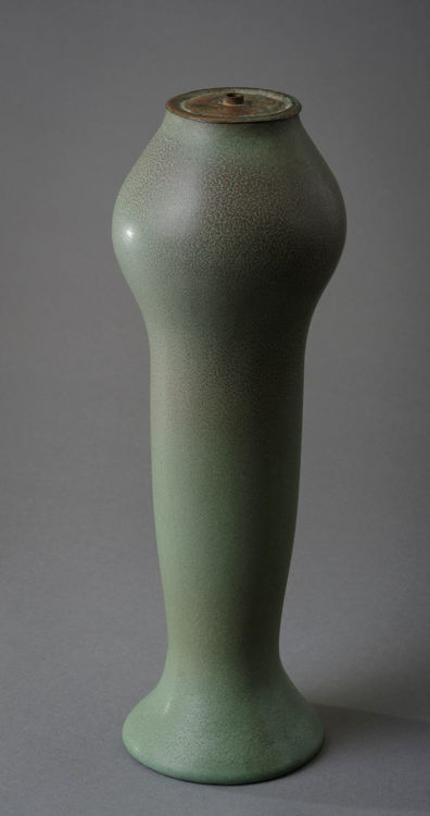 Picture of Lamp Base in Matte Green