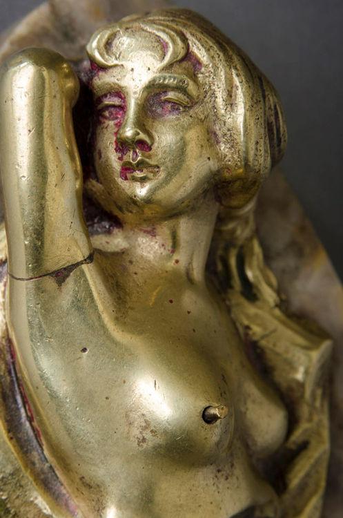Picture of Nude Woman Door Bell Push
