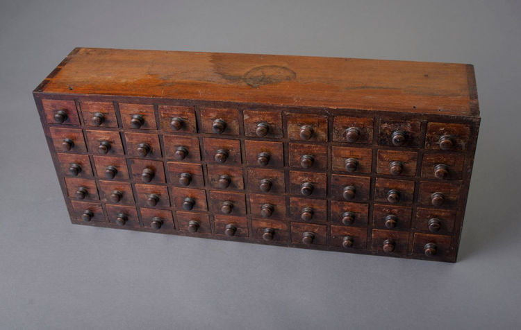 Picture of Watchmaker's Storage Cabinet