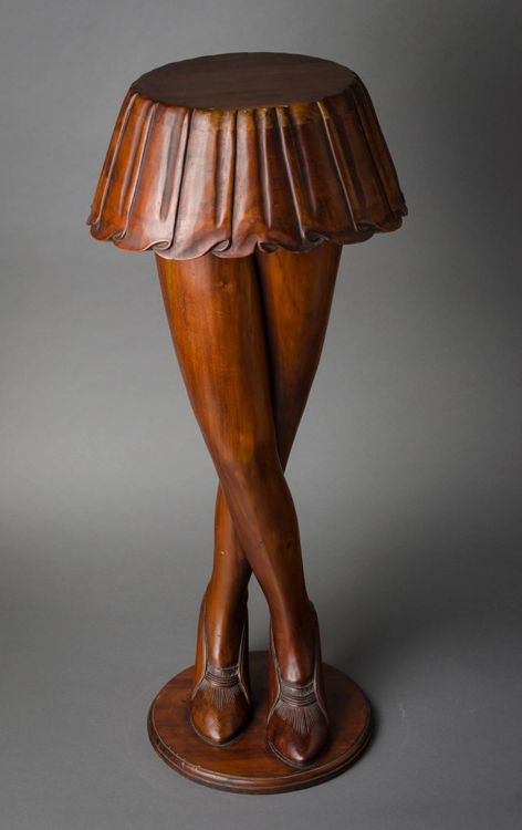 Picture of Lady's Skirt and Legs Plant Stand