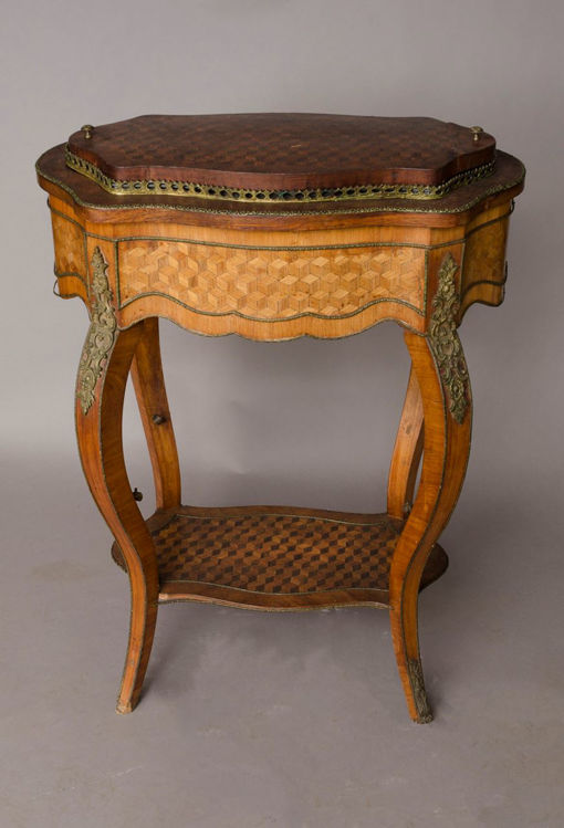 Picture of Louis XVI-style Parquetry Jardiniere