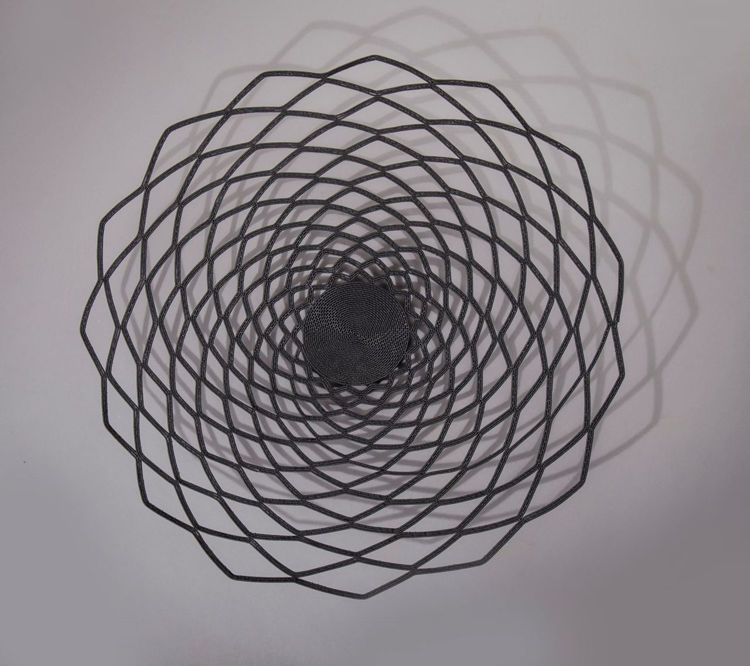 Picture of Black Telephone Wire Basket