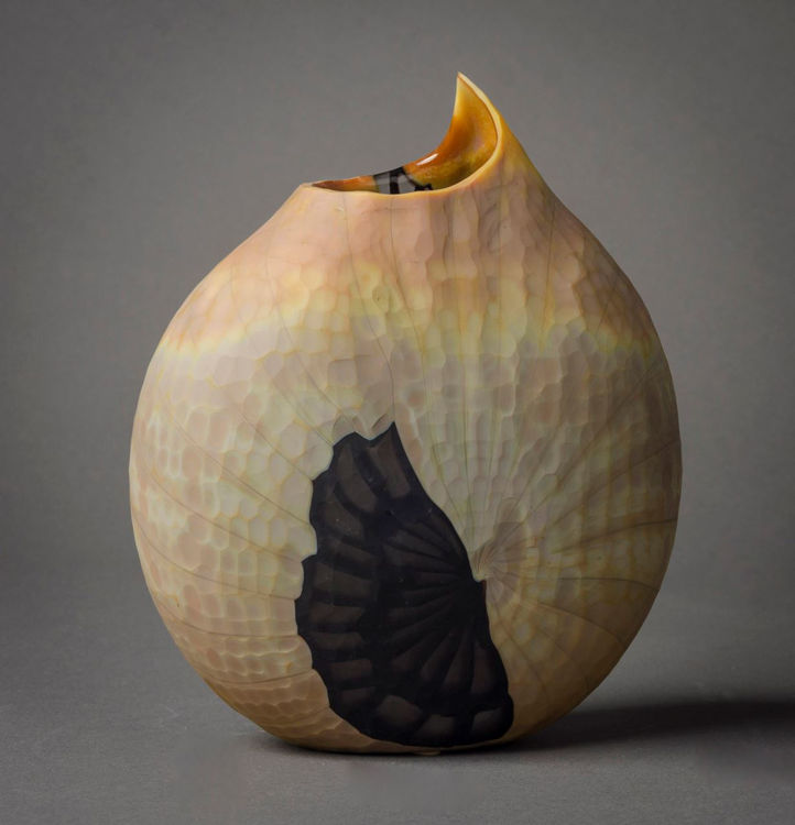 Picture of Battuto Nautilus Vase