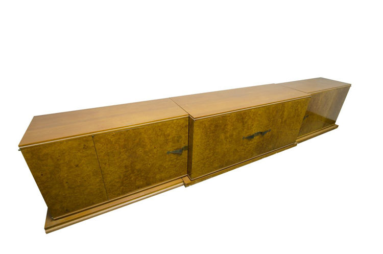 Picture of Burlwood and Mahogany Credenza