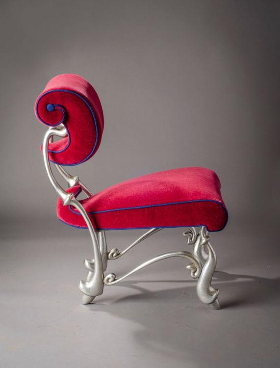 Picture of Iridium Ballet Dining Chair