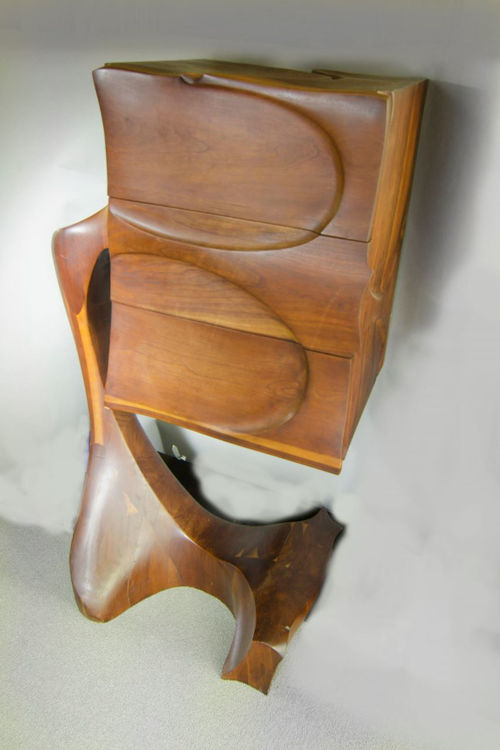 Picture of Sculpted Three Drawer Dresser