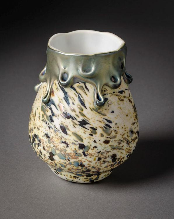 Picture of White Lava Vase