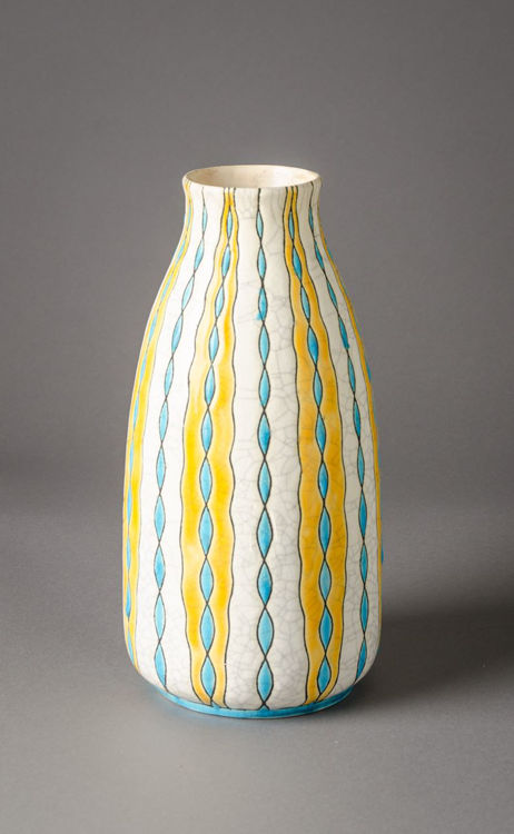 Picture of Yellow Blue Vase