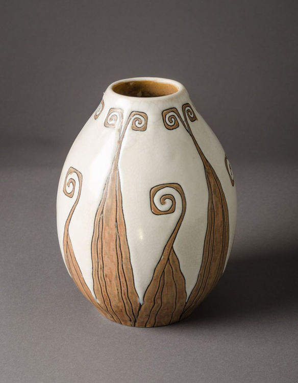 Picture of Vase with Organic Pattern