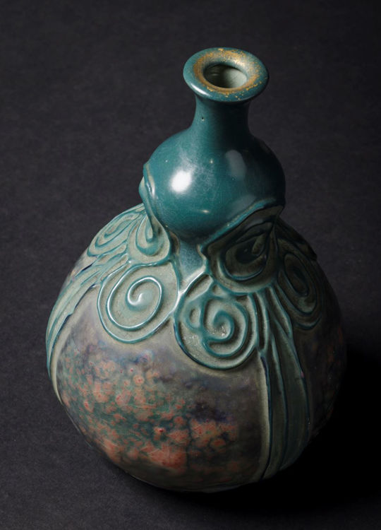 Picture of Green Secessionist Vase